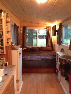 Amazing #tinyhouse based on the hOMe design built for just $8k! Impressive.