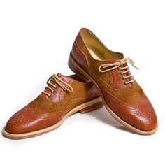 Oxfords Womens Brown, $199, now featured on Fab.