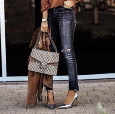 5ce942c62cfe Bag  gucci gucci tumblr dionysus denim jeans blue jeans sandals ...