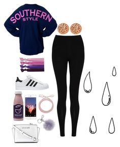 """7 years old"" by kailah-21 ❤ liked on Polyvore featuring Ribband, M&S Collection, adidas, Michael Kors, MICHAEL Michael Kors, Allurez, Belkin, Old Navy, like and pretty"