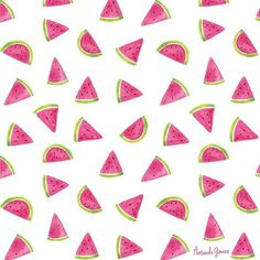 Watermelon pattern because they're such a fun fruit and I had some paint sketches hanging around :) #delightedpatterns #watercolor  .  .  .  .  #patterndesign#surfacedesign#pattern#patterndesigner#surfacedesigner#surfacepatterndesign#surfacepatterndesigner#textiledesign#printandpattern#watercolorpattern#patternplay#fruit#fruitpattern#repeatpattern#amandagomesart#watermelon#watermelonpattern#dspattern#dscolor#watercolour#dailypattern