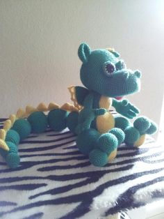 Amigurumi Dragon, now that looks like a lot of work.