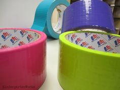 Classroom decor from duct tape!
