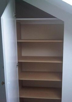 Under Stairs Shelving Unit under stairs storage cupboard | stair storage, storage and google
