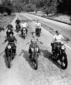 Women Riders leading the Pack