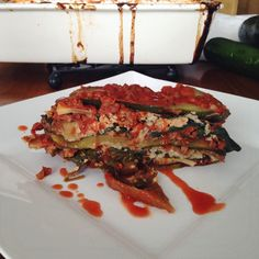 Paleo Lasagna with Homemade Dairy-free Cottage Cheese