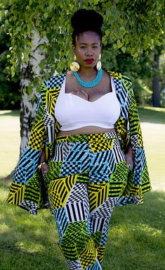 ZELIE FOR SHE Plus Size Fashion | PRINT ON PRINT