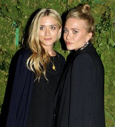 beautiful Olsen sisters