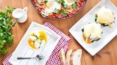 Snadná vejce Benedikt - Proženy Mashed Potatoes, Ale, Eggs, Vegetarian, Breakfast, Ethnic Recipes, Kitchen, Food, Whipped Potatoes