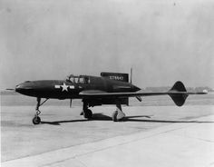 Curtiss XP-55 42-78847 - Ray Wagner was Archivist at the San Diego Air and Space Museum for several years and is an author of several books on aviation