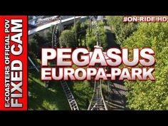 Europa Park Rust, Attraction, Roller Coaster, Photos Du, Pegasus, Coasters, Wicked, Channel, Germany
