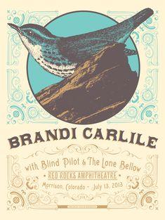 Brandi Carlile - Red Rocks Amph.