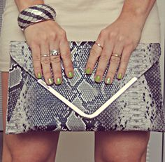 Stylish clutch for a night out!