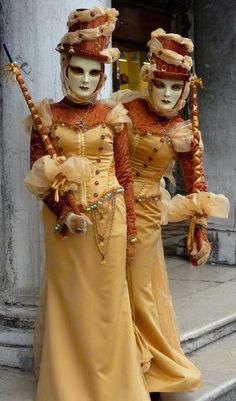 Venice Carnival 2016 - the golden ladies Photo by Maurizio Signorile — National Geographic Your Shot