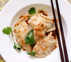 I want some momo!  Sorry...that was just terrible...Tibetan Momo Dumplings with Spicy Chutney