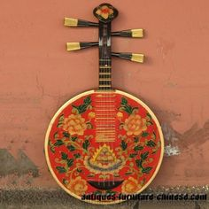 Chinese Guitar ... Beautiful