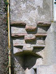 Westhall - stair-tower corbelling supported on a squinch arch (arjayempee) Tags: castle scotland aberdeenshire gordon towerhouse bennachie westhall horne dalrymple elphinstone oyne gadieburn backobennachie 48p7092142