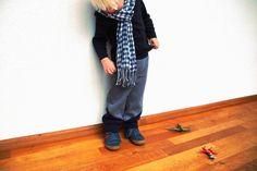 Color Blocking - huisje boompje boefjes- aviator pants (pattern winter wear designs)