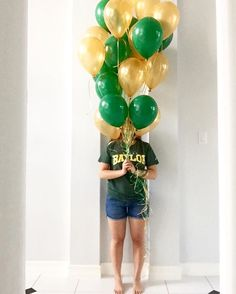 Great way to announce you're attending Baylor University! #SicEm!
