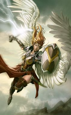 angel warrior by ~kikicianjur on deviantART