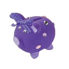An important part of teaching financial skills to our Head Start students is teaching them to save.  These DIY piggy banks inspire them to do just that.
