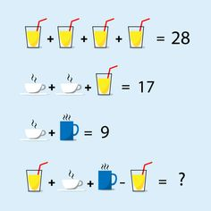 To improve your logical thinking and problem solving skills. Free online practice of puzzles and riddles problems with solutions for all competitive exams. Math Puzzles Brain Teasers, Brain Teasers For Kids, Maths Puzzles, Logic Math, Mind Puzzles, Math Challenge, Maths Solutions, Online Tutoring, Math For Kids