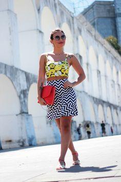 look de domingo: frutas e grafismos – Small Fashion Diary