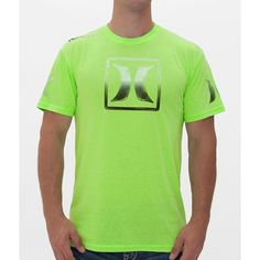 Hurley Slycon T-Shirt (77 BRL) ❤ liked on Polyvore featuring men's fashion, men's clothing, men's shirts, men's t-shirts, green, mens green shirt, mens long sleeve shirts, hurley mens shirts and mens long sleeve t shirts