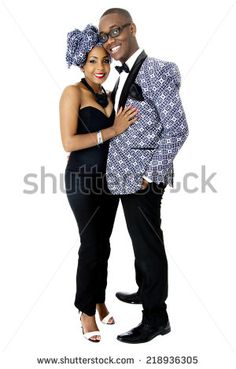 stock-photo-beautiful-couple-dressed-in-traditional-african-clothes-in-studio-over-white-218936305.jpg (300×470)