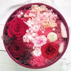 AmigoGarden永生花礼盒《红妆》永不凋谢的鲜花