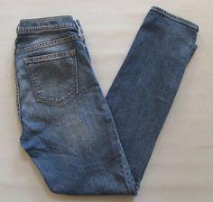 "GAP 1969 Authentic Real Straight Jeans 30 L 10 Medium Vintage Washwell 2016 31"" #GAP #StraightLeg"
