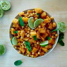 Chana Masala, Ethnic Recipes, Food, Hands, Essen, Meals, Yemek, Eten