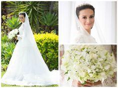 Look da noiva - Decoração romântica