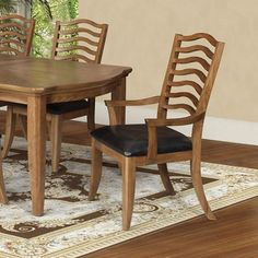 Acme Furniture Selwyn Dining Arm Chairs - Set of 2 - 60718