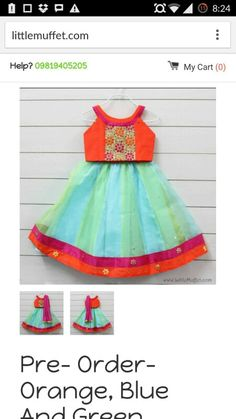 Chaniya choli Kids Dress Wear, Kids Wear, Baby Dress, Wedding Dresses For Girls, Little Girl Dresses, Kids Ethnic Wear, Kids Lehenga, Baby Frocks Designs, Kids Wardrobe