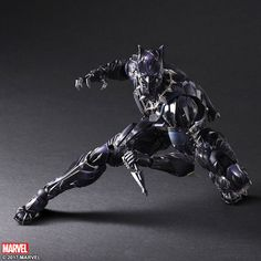 Square Enix Puts Their Play Arts Kai Spin On Black Panther