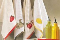Вся правда о кухонных полотенцах...