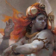 Cardinal Directions, Tan Guys, Sketch Design, Lord Shiva, Tan Man, Instagram Posts, Artwork, God, Painting
