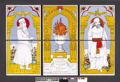 Parsi Zoroastrian tiles 1990,0709.1