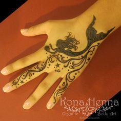 Organic Henna Products.  Professional Henna Studio. KonaHenna.com