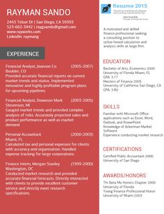 1000 images about resume 2015 on pinterest best resume