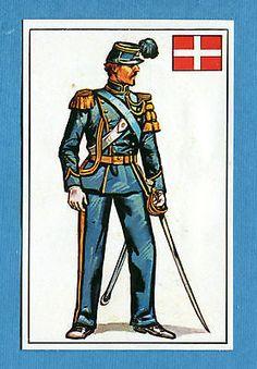 ARMI E SOLDATI - Edis 71 - Figurina-Sticker n. 258 - ARTIGLIERE PIEMONTESE -Rec