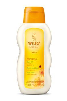Aceite de caléndula de Weleda Baby 16 euros