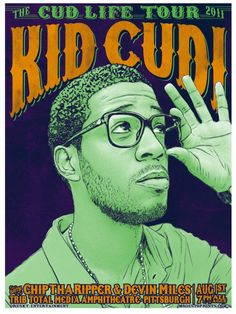 kid cudi <3 I want to paint him!
