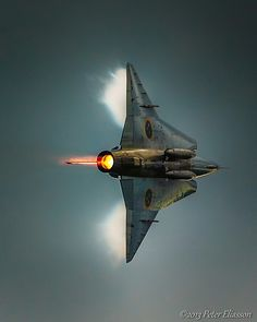 Saab Draken. I love it's lines