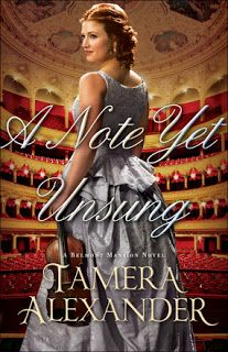 Book Bites, Bee Stings, & Butterfly Kisses: Book review:  A Note Yet Unsung by Tamara Alexande...