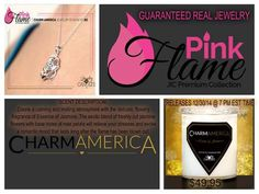 JIC has joined with CharmAmerica offering a new candle with the alluring scent of Jasmine,2 wicks and high end jewelry in every candle!