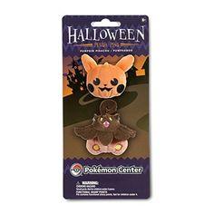 Pumpkin Pikachu and Pumpkaboo Plush Pin Set (2-Pack)