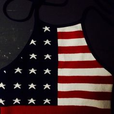 Crop top Super cute American flag crop top perfect for summer. Could fit an XS-S Tops Crop Tops
