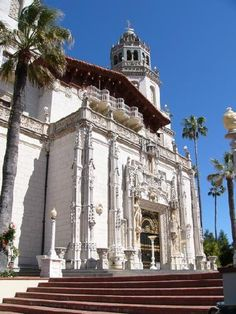 Hearst Castle. Totally worth going to more than once. JFK and Jackie spent their honeymoon here.
